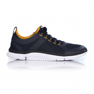 Clarks Mens Triken Active Navy Casual Shoes